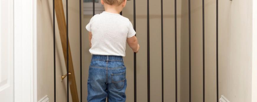 Cancello sicurezza bimbi